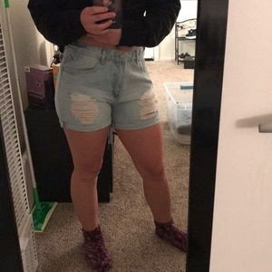 Forever 21 Shorts - Forever 21 Denim Shorts